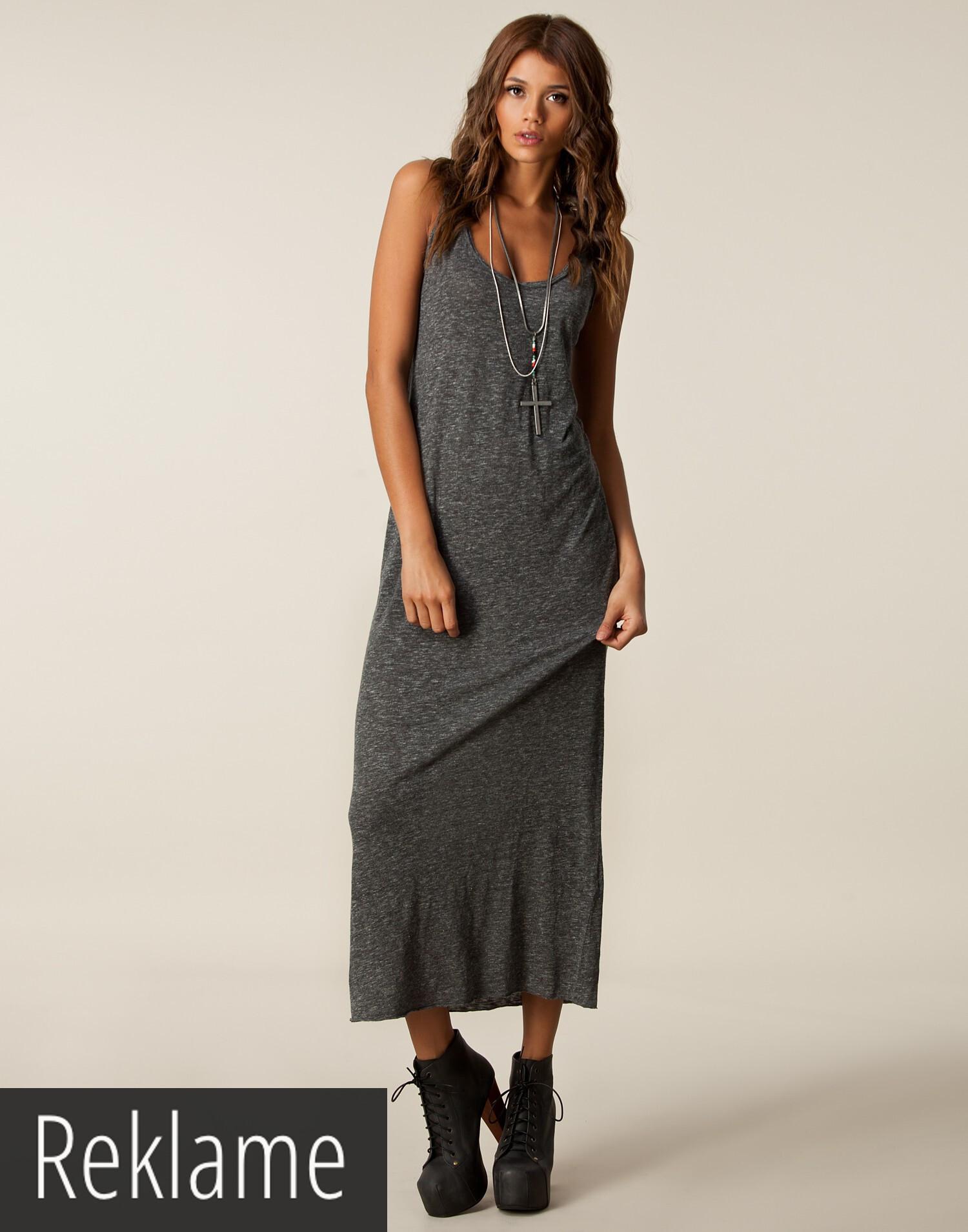 american vintage long tank top dress