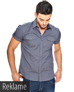 skjorter med korte ærmer til mænd