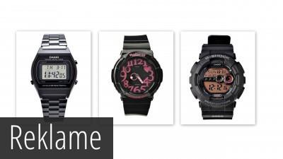 Klassiske Casio ure til kvinder