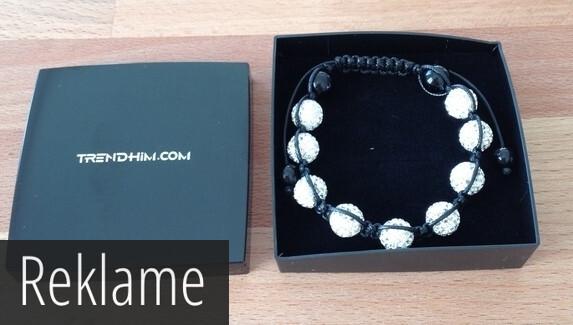 Anmeldelse – Diamant knyttet armbånd fra TRENDHIM