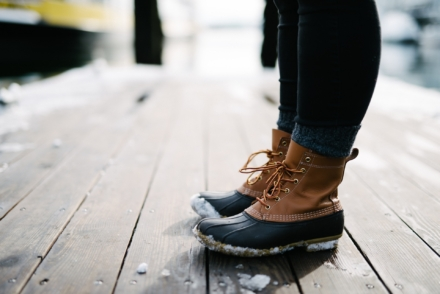 Hold varmen til vinter med varme, vamsede vinterstøvler