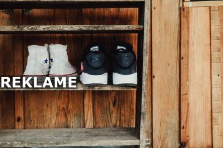Gør plads til dine sko i entreen