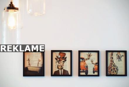 Gør dit hjem moderne med plakater på væggen